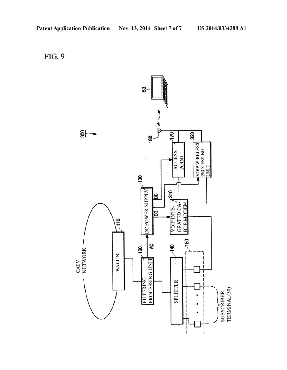 medium resolution of wireless tap off device capable of providing wireless lan service diagram schematic and image 08