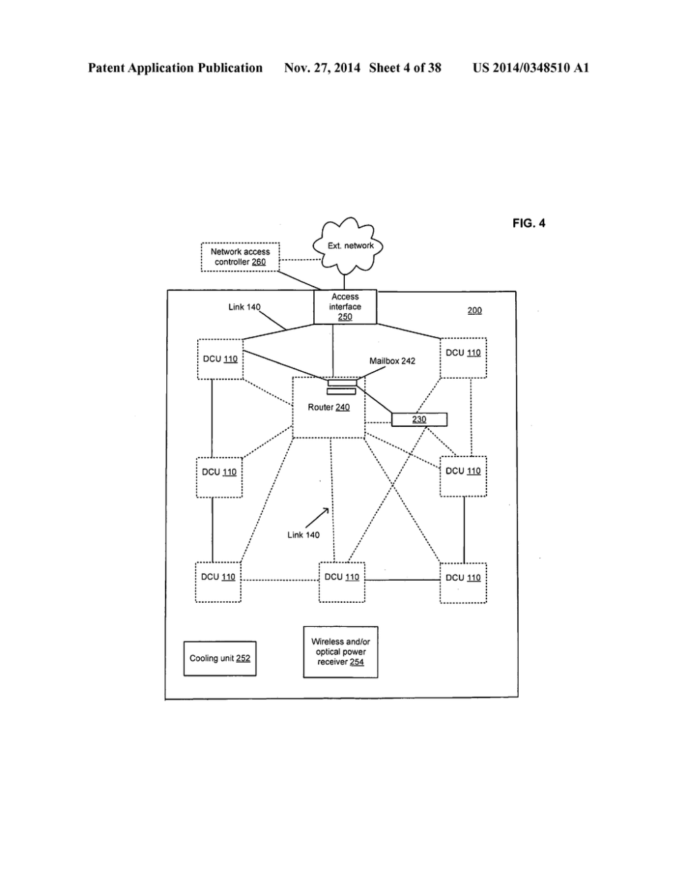 medium resolution of data center with free space optical communications diagram schematic and image 05