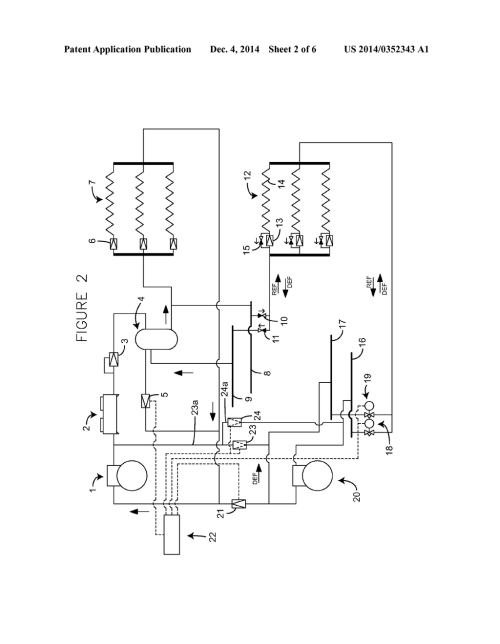 small resolution of co2 refrigeration system with hot gas defrost diagram schematic and image 03