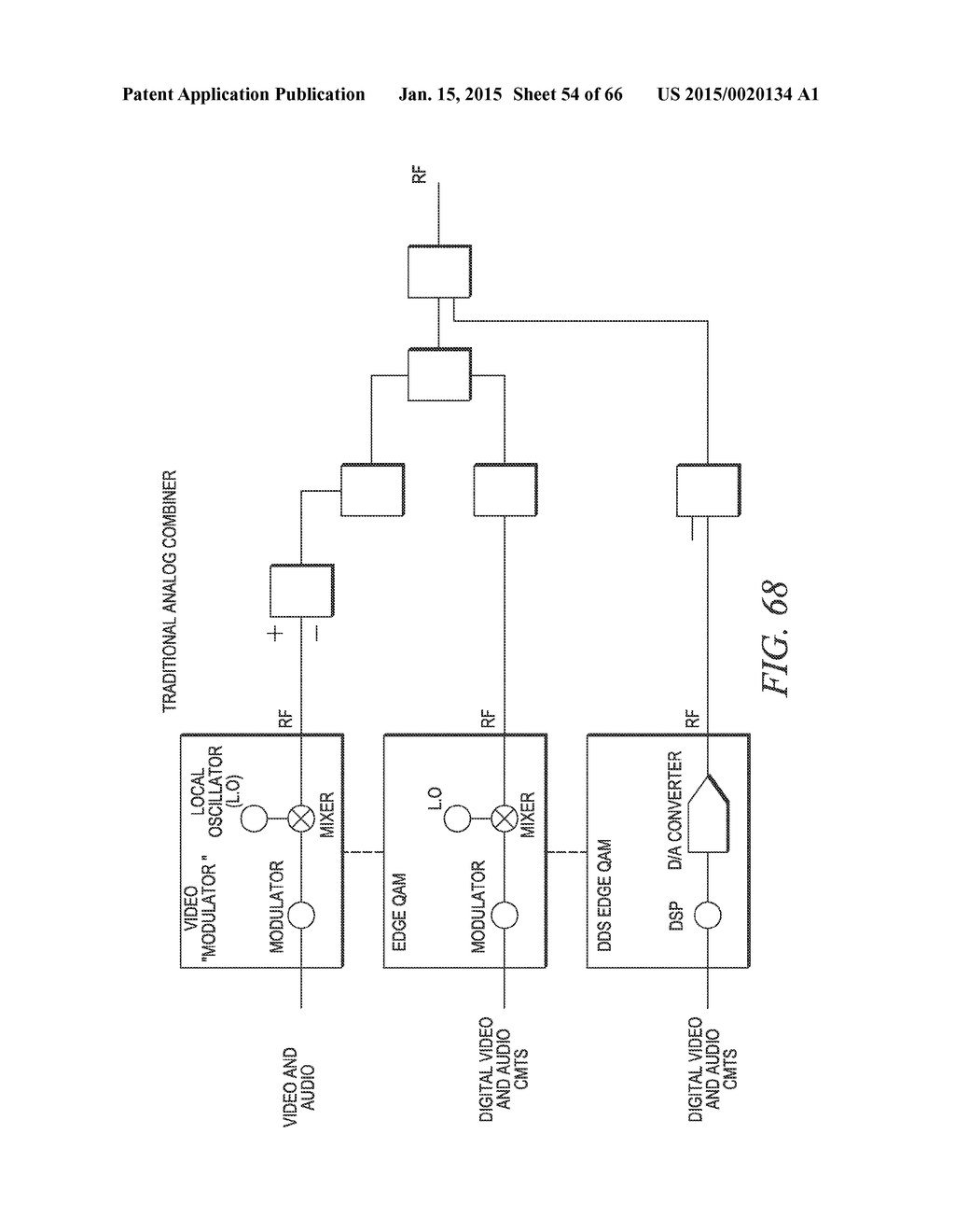hight resolution of catv video and data transmission system with rf and digital combining network diagram schematic and image 55