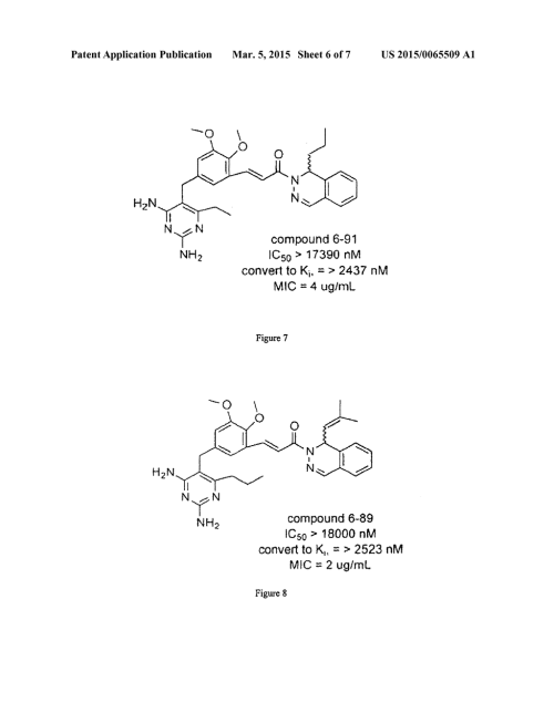 small resolution of highly 6 substituted 2 4 diaminopyrimidines as inhibitors of anthrax diagram schematic and image 07