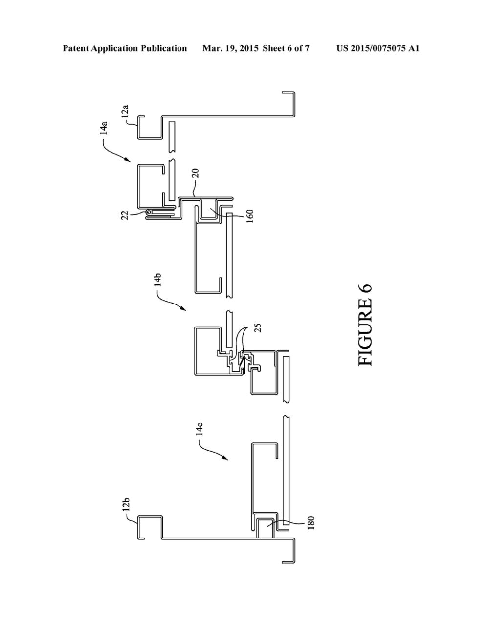 medium resolution of double acting patio door diagram schematic and image 07 garage door opener wiring diagram patio door schematic