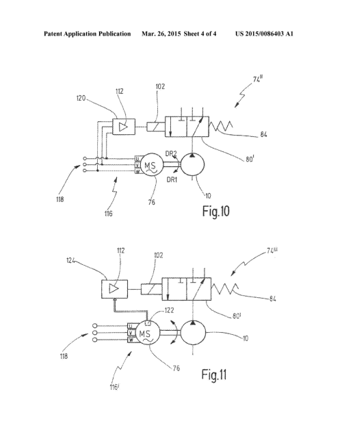 small resolution of internal gear pump and hydraulic circuit for a motor vehicle drivetrain diagram schematic and image 05