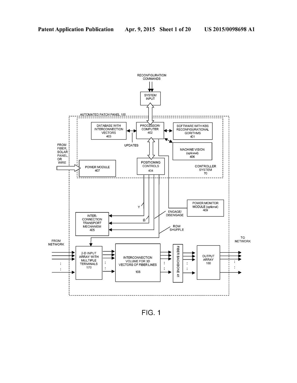 hight resolution of 20150098698 02 ultra compact software defined fiber optic patch panels diagram fiber optic