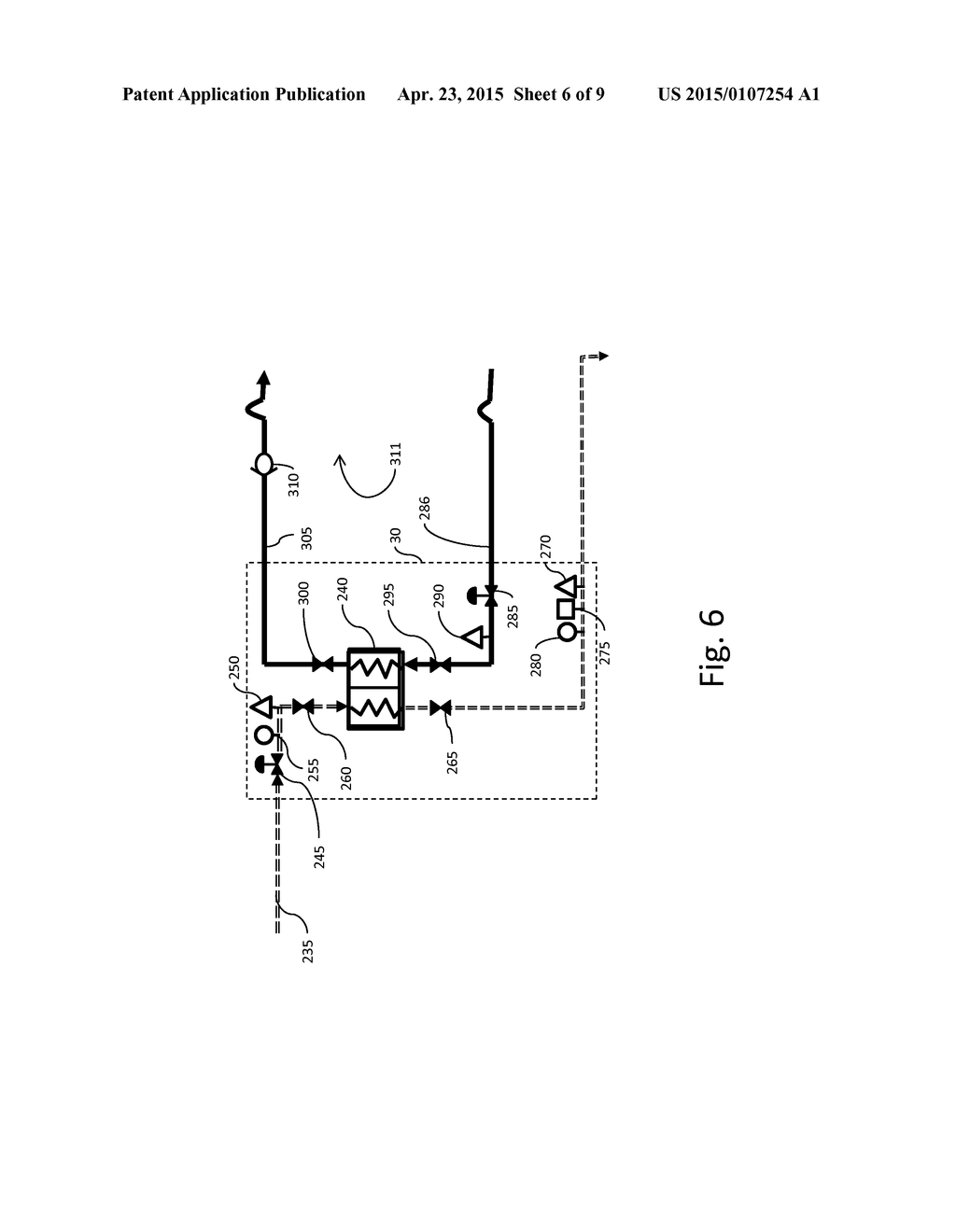 hight resolution of method and system for improving the efficiency of a simple cycle gas turbine system with a closed circuit fuel heating system diagram schematic