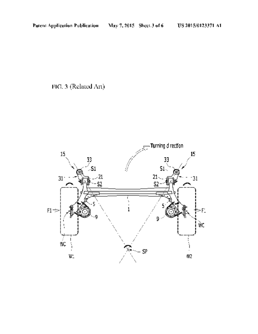medium resolution of coupled torsion beam axle type suspension system diagram schematic and image 04