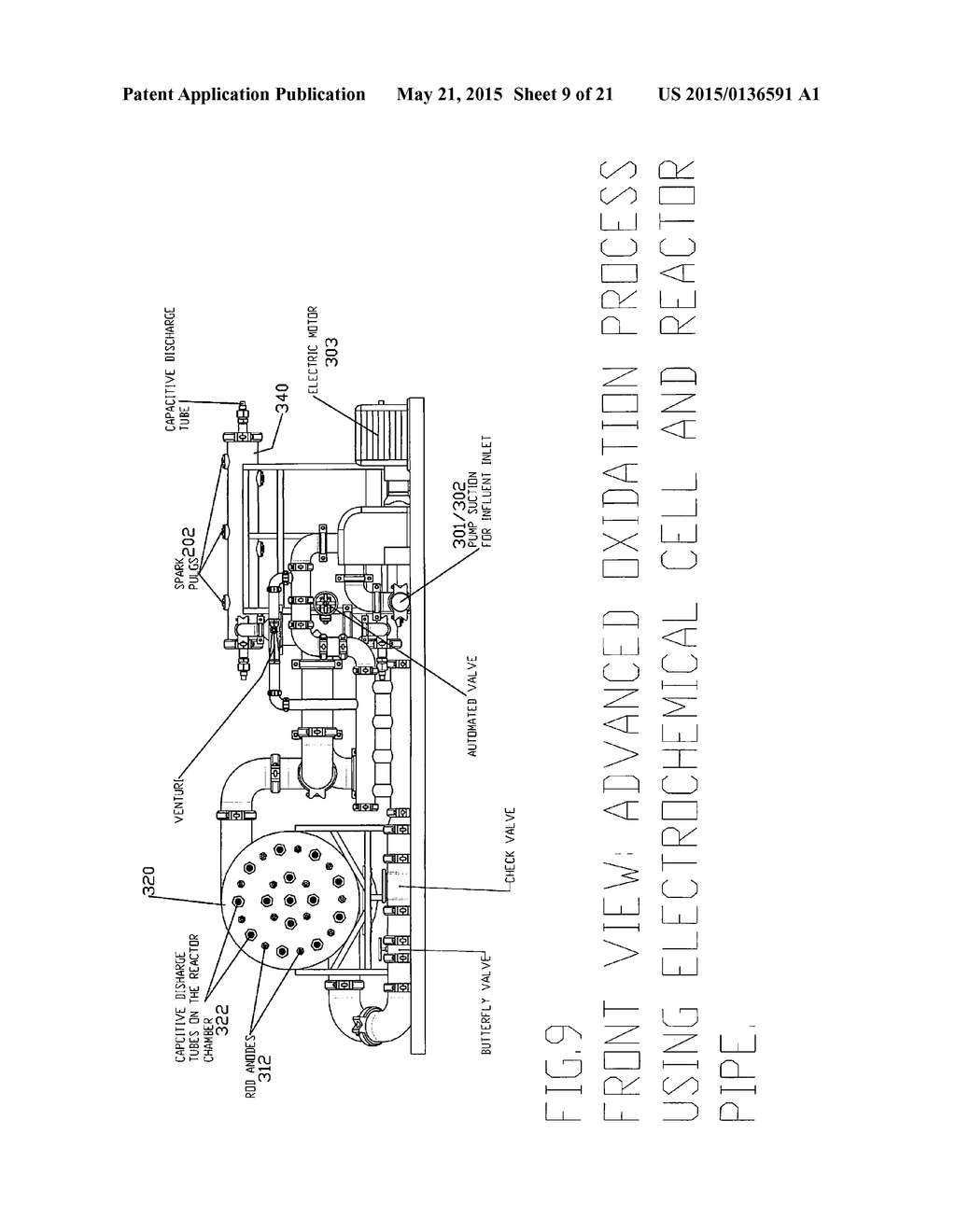 hight resolution of electrolytic cell with advanced oxidation process and electro catalytic paddle electrode diagram schematic and image 10