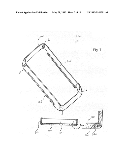 small resolution of detachable front flip cover for cell phone case diagram schematic and image 08