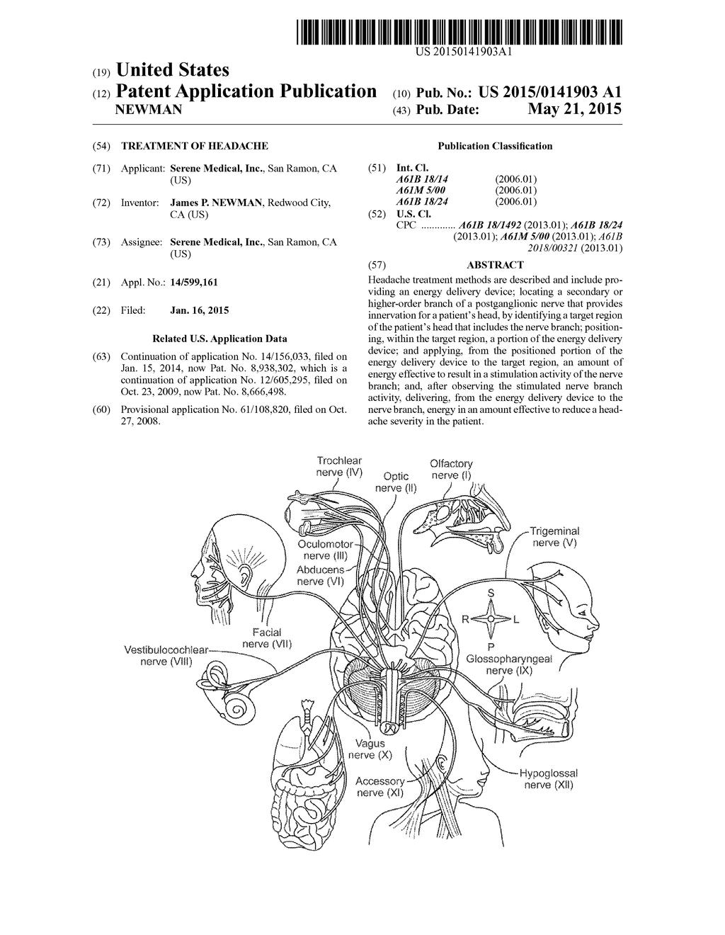 treatment of headache diagram