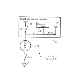 automotive led bleed resistor circuit and body control module interrupt wakeup circuit diagram schematic and image 02 [ 1024 x 1320 Pixel ]
