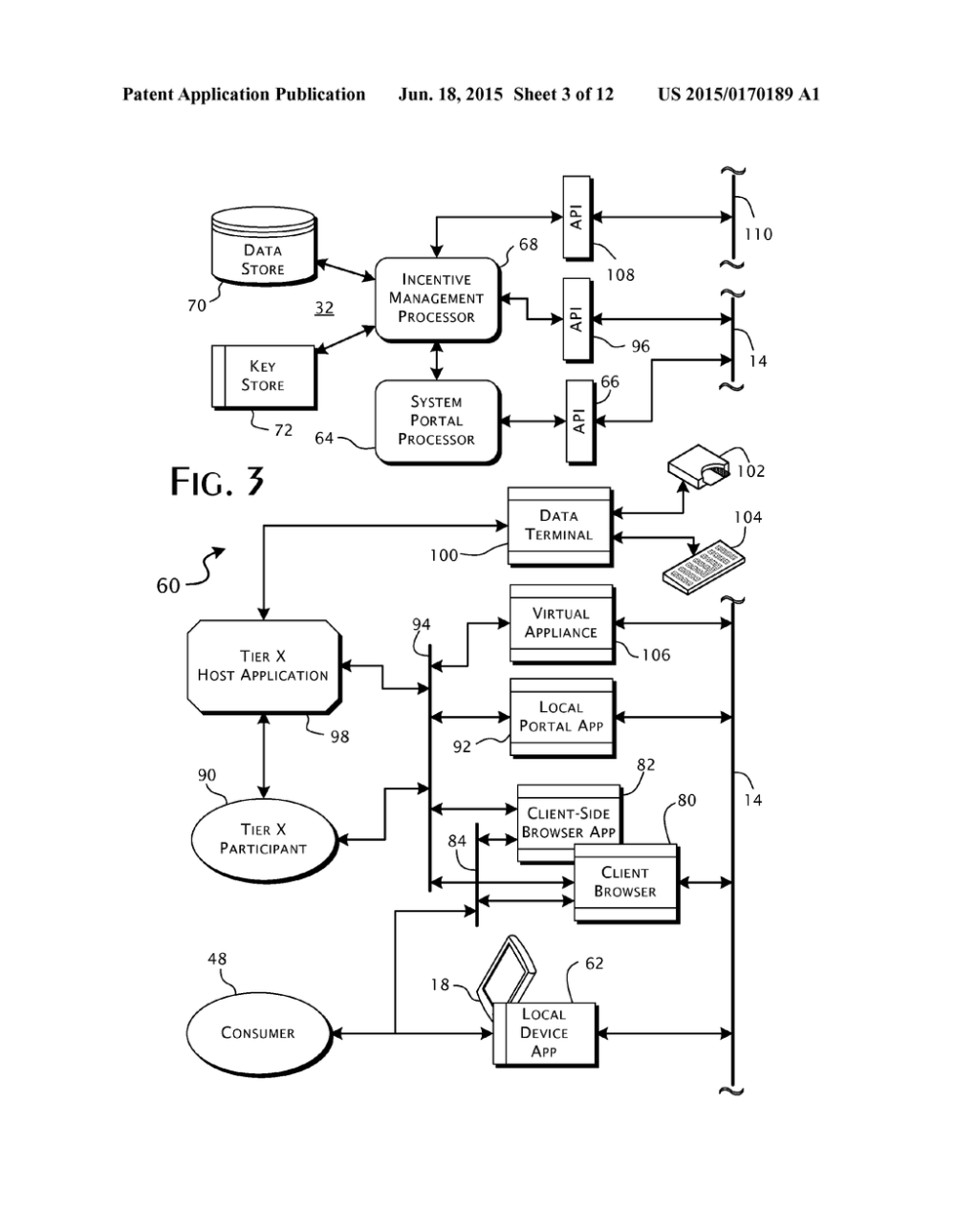 medium resolution of scalable secure incentive campaign management computer system architecture and methods of operation diagram schematic and image 04