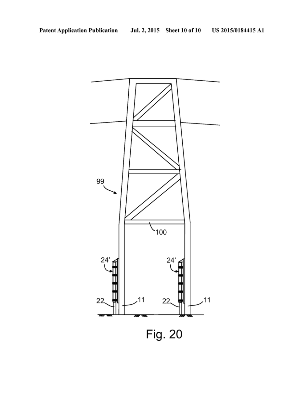 medium resolution of methods and apparatuses of supporting and bracing a utility pole diagram schematic and image 11