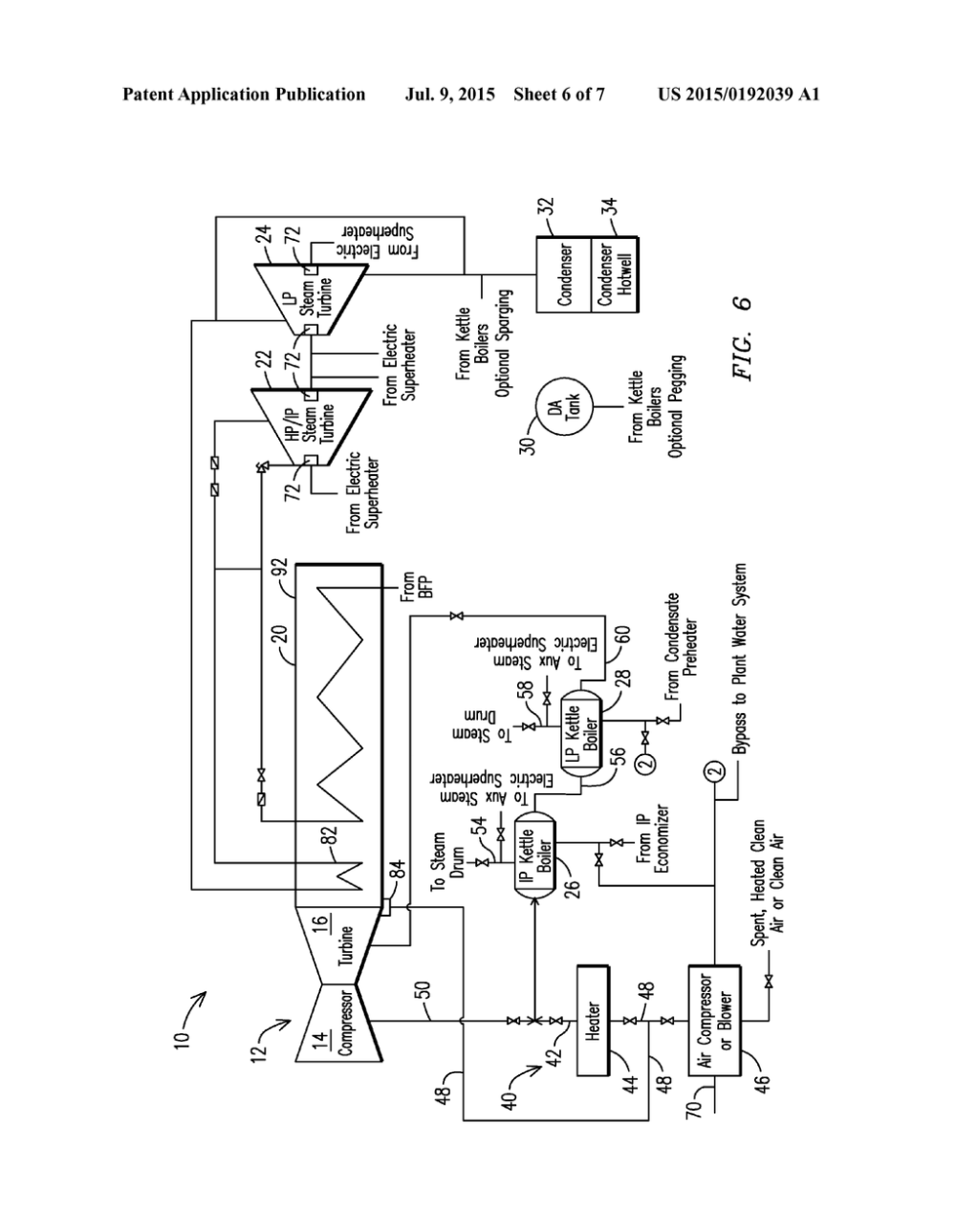 medium resolution of auxillary steam generation arrangement for a combined cycle power plant diagram schematic and image 07