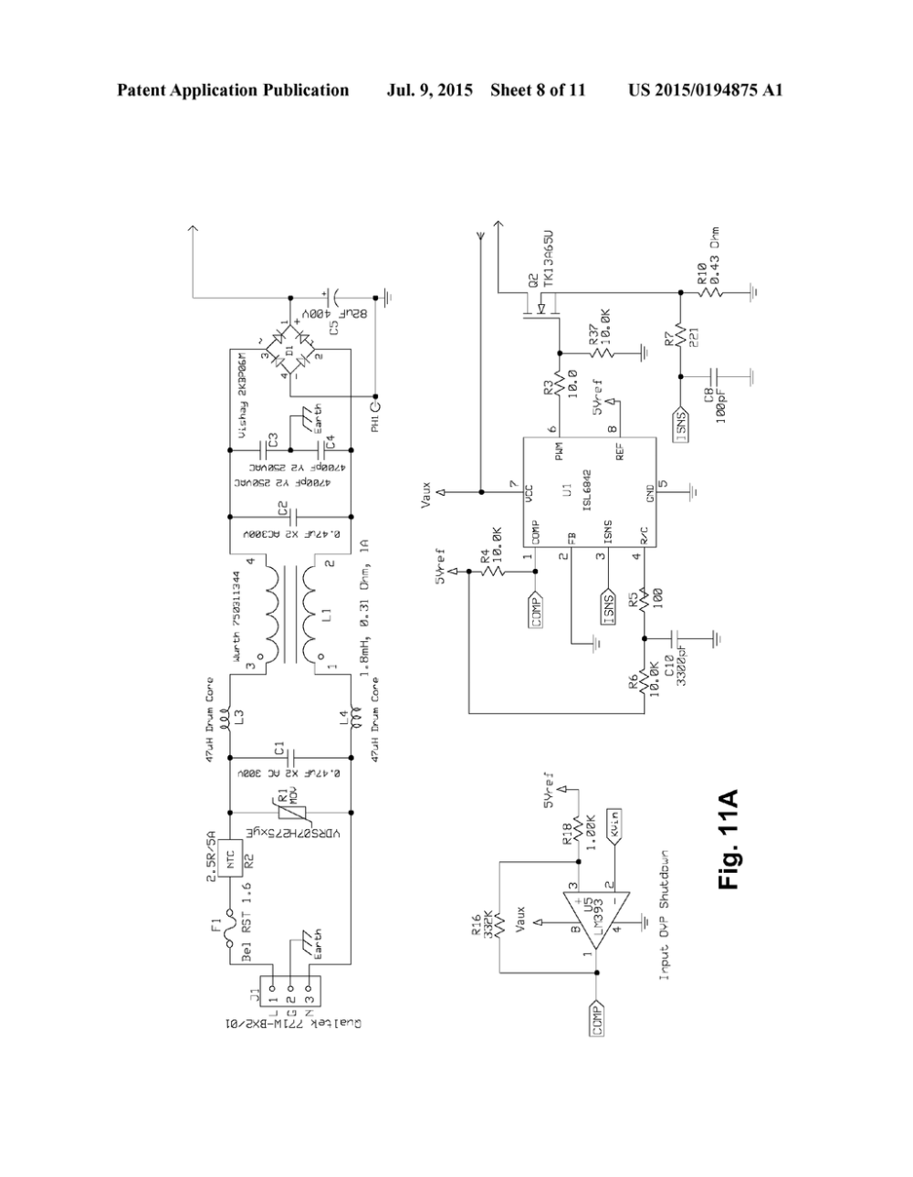 medium resolution of switching power supply startup circuit having normally on emitter switched current source diagram schematic and image 09