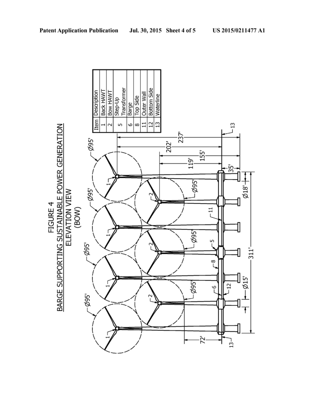 medium resolution of offshore floating barge to support sustainable power generation diagram schematic and image 05