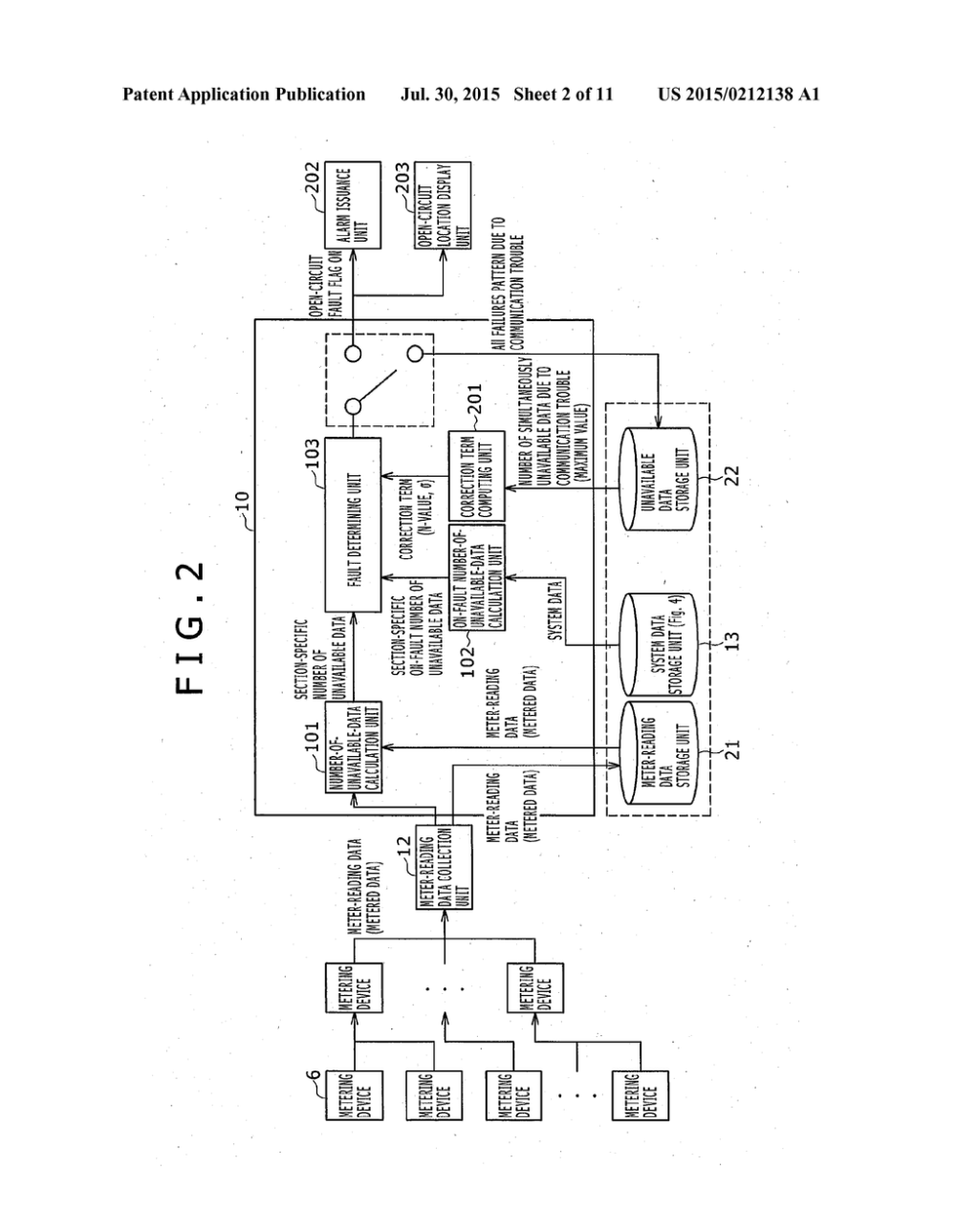 medium resolution of method for detecting open circuit faults in electric power distribution system and power distribution facilities management system diagram schematic