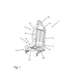 bucket seat diagram [ 1024 x 1320 Pixel ]