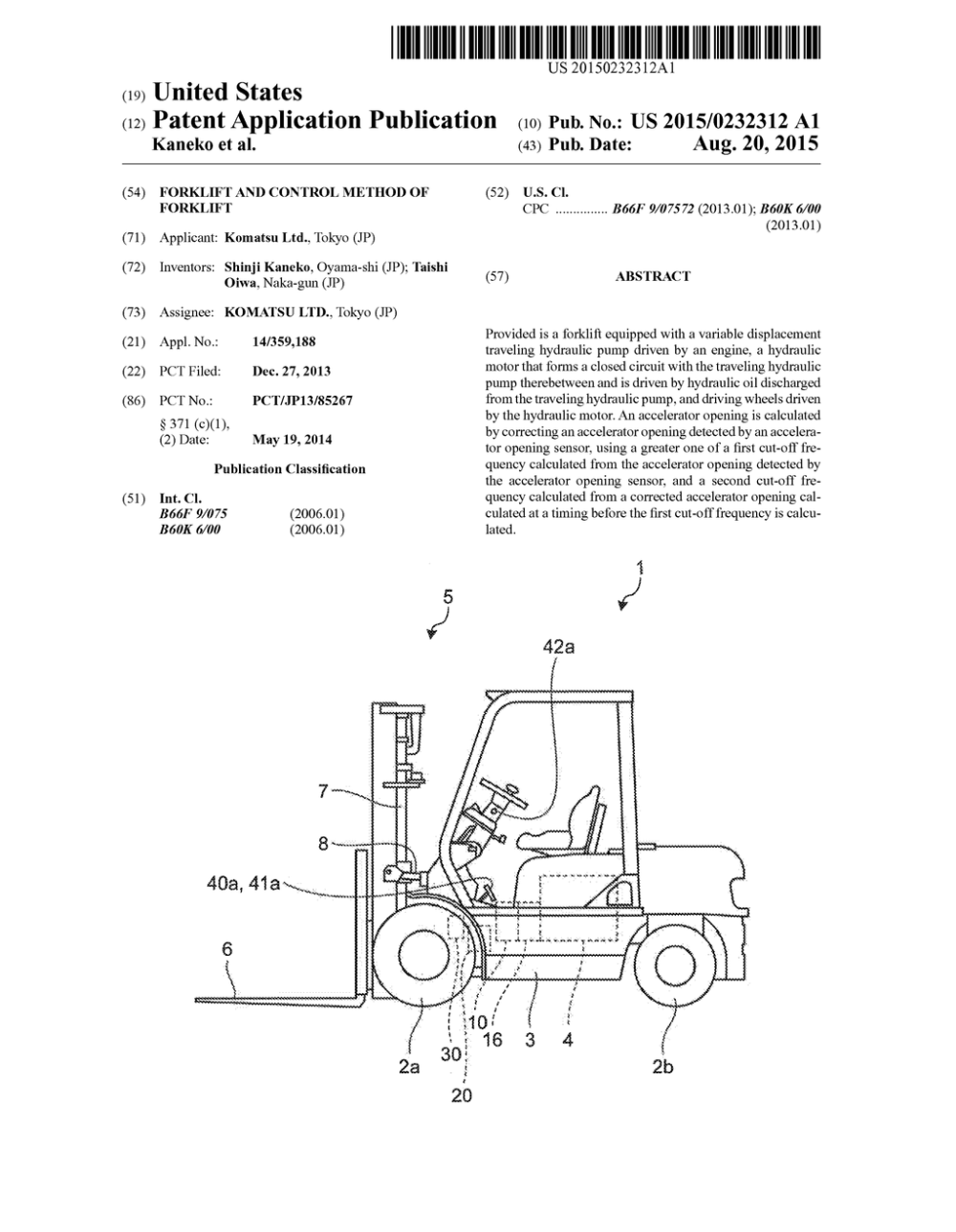 medium resolution of forklift and control method of forklift diagram schematic and image 01