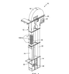 bucket for a bucket elevator diagram schematic and image 02 [ 1024 x 1320 Pixel ]