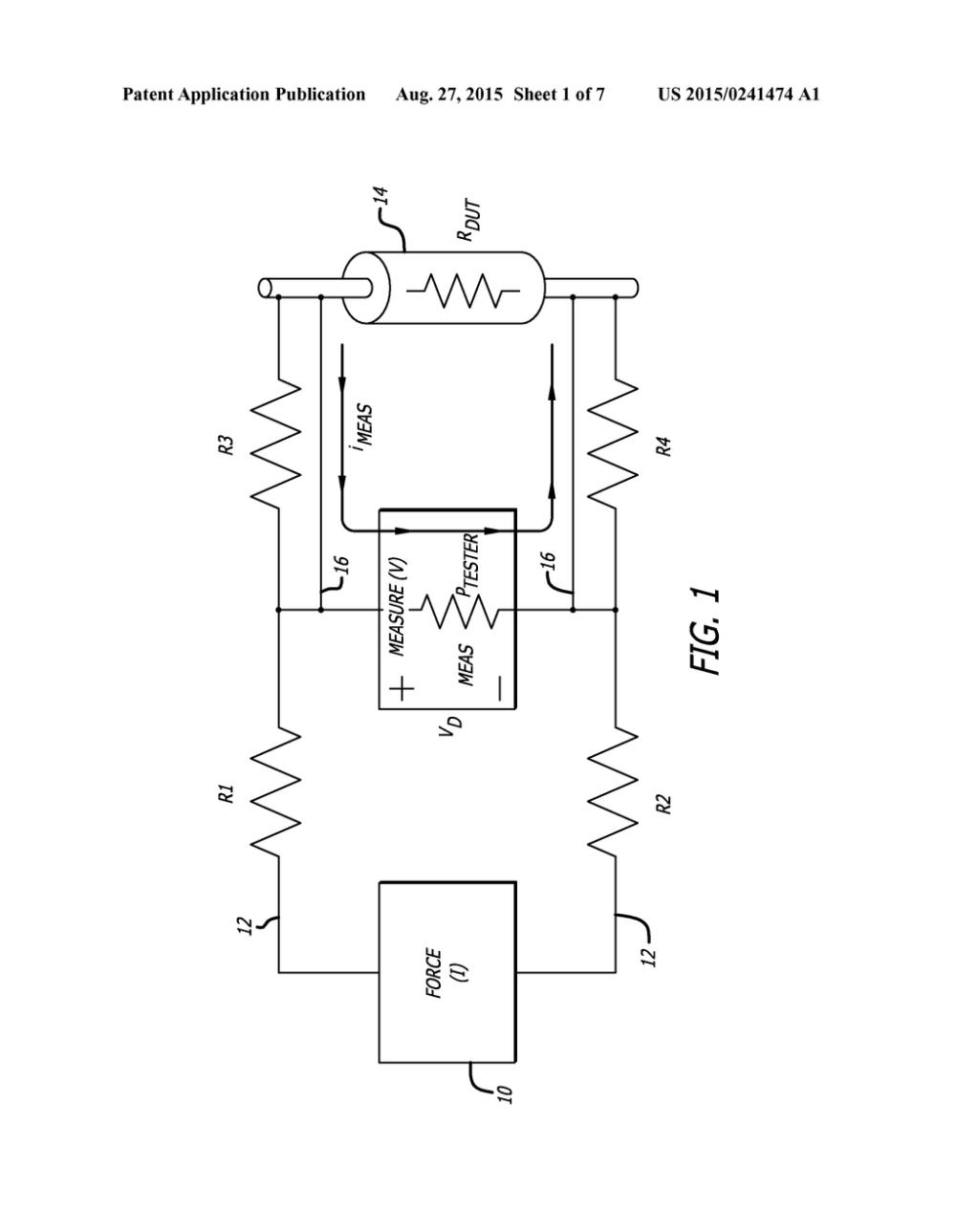 medium resolution of integrated circuit ic test socket using kelvin bridge diagram schematic and image 02