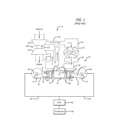 piston cooling configuration utilizing lubricating oil from bearing reservoir in an opposed piston engine diagram schematic and image 02 [ 1024 x 1320 Pixel ]