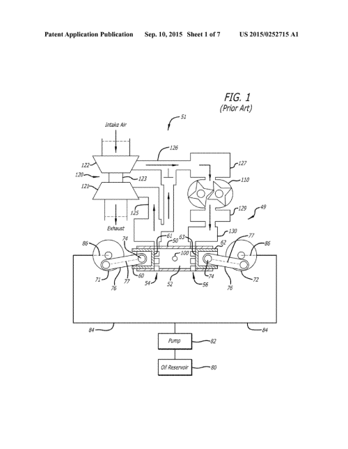 small resolution of piston cooling configuration utilizing lubricating oil from bearing reservoir in an opposed piston engine diagram schematic and image 02