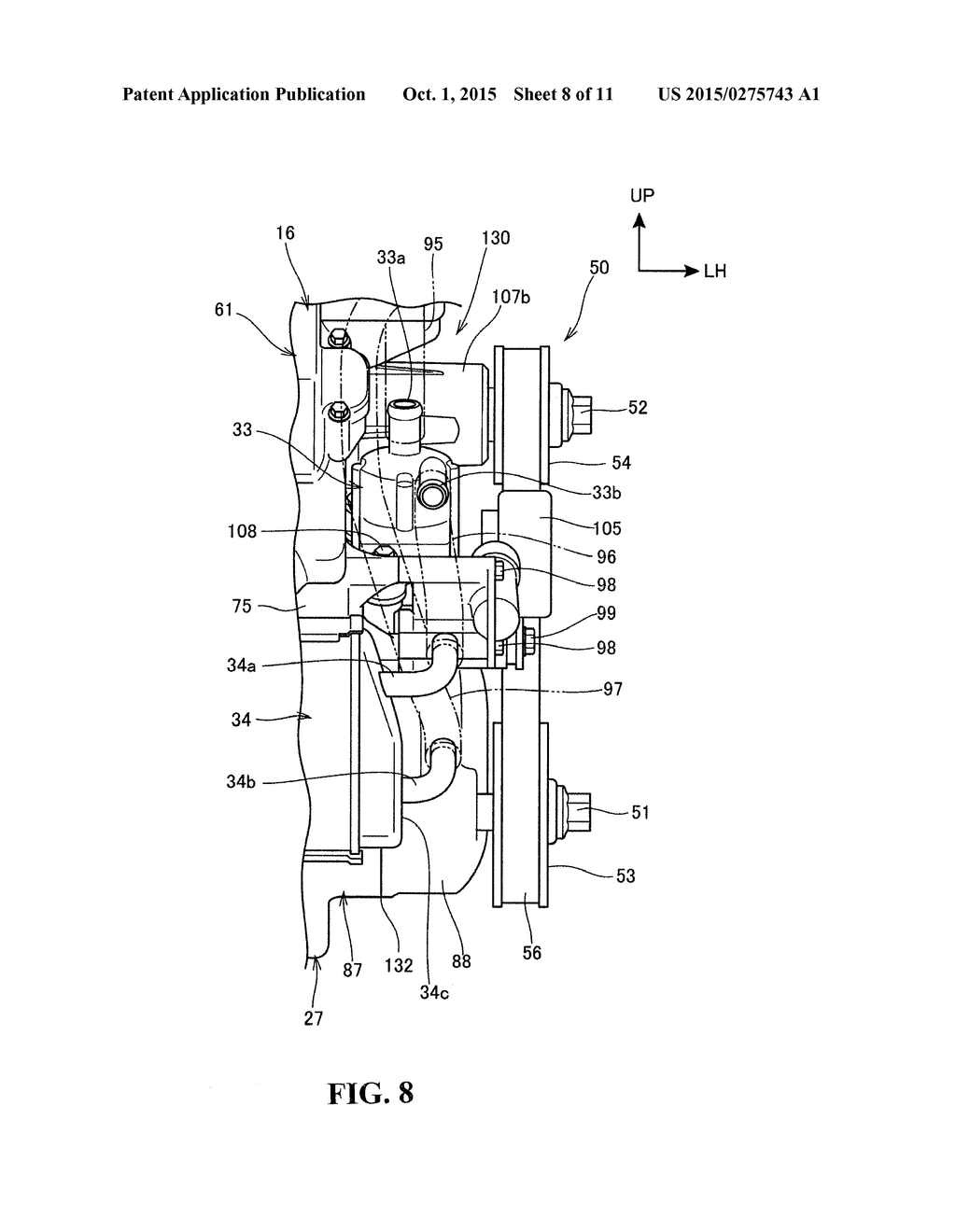 hight resolution of engine supercharger diagram