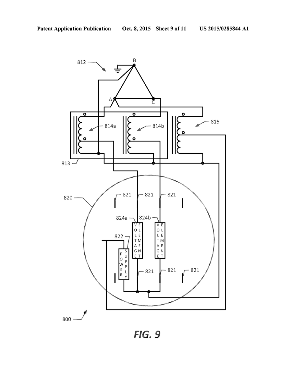 medium resolution of self contained electrical meter arrangement with isolated electrical meter power supply diagram schematic and image 10