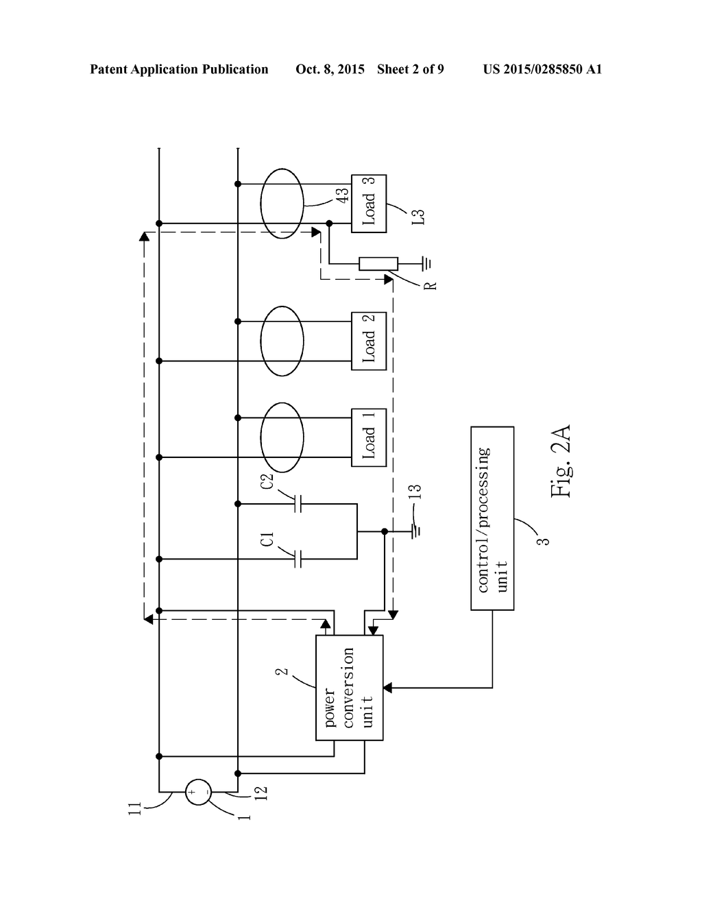 hight resolution of high sensitivity insulation resistance detection method and circuit for ungrounded dc power supply system diagram schematic and image 03