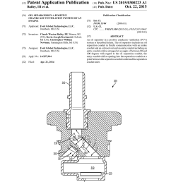 oil separator in a positive crankcase ventilation system of an engine diagram schematic and image 01 [ 1024 x 1320 Pixel ]