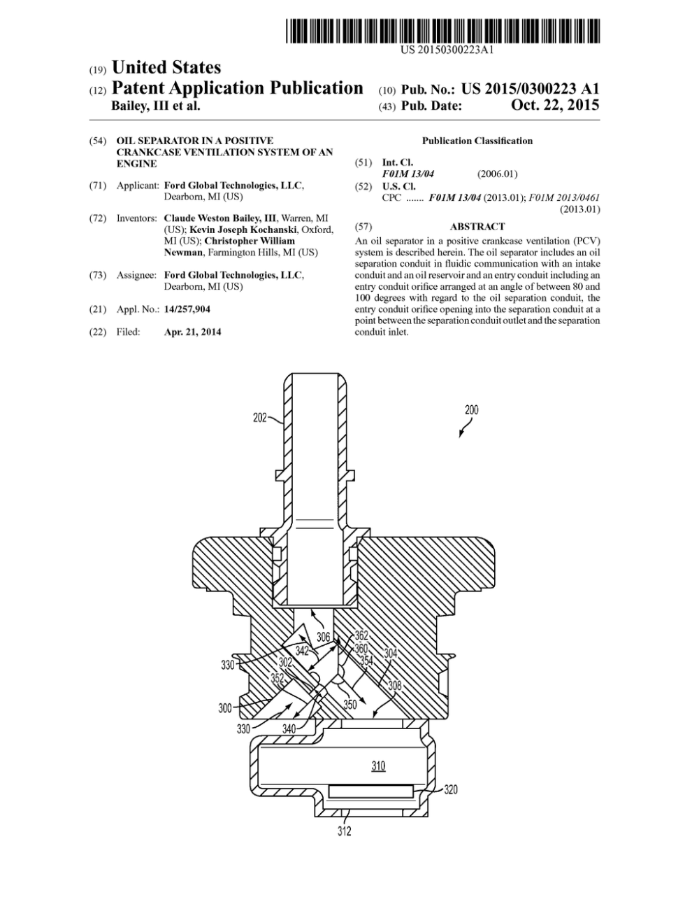 medium resolution of oil separator in a positive crankcase ventilation system of an engine diagram schematic and image 01