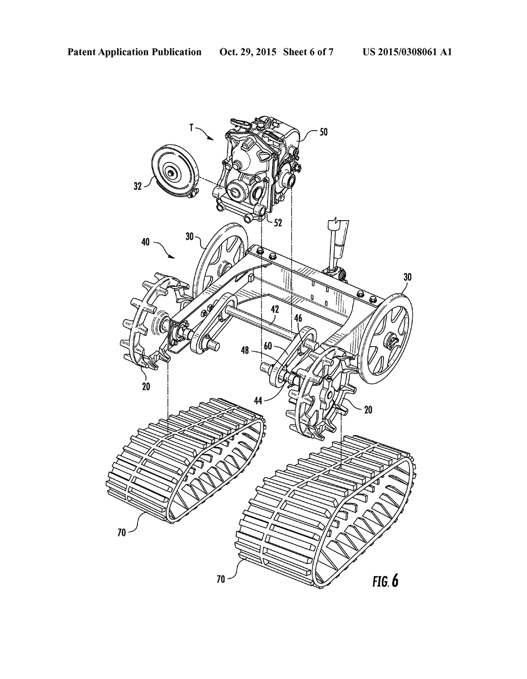 hight resolution of drive shaft bearing structure assemblies for snowblower track type driven sprocket and related methods diagram schematic and image 07
