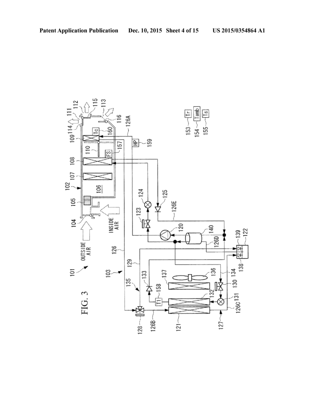 medium resolution of heat pump automotive air conditioner and defrosting method of the heat pump automotive air conditioner diagram schematic and image 05