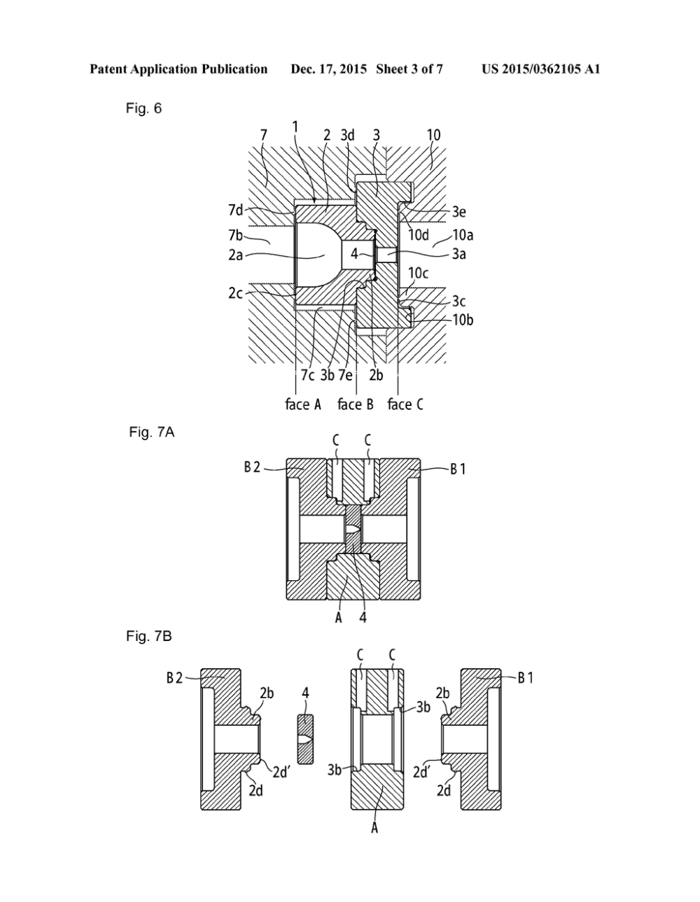 medium resolution of gasket integrated ceramic orifice plate diagram schematic and image 04