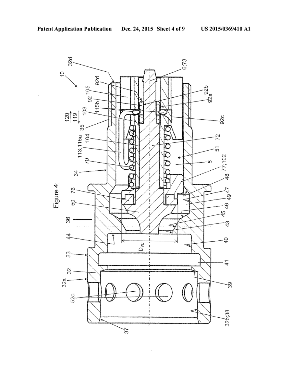 medium resolution of coupling part for a quick release coupling for high pressure hydraulic lines diagram