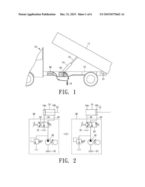 small resolution of wireless remote control hydraulic pump mechanism for dump trucks hydraulic dump bed wiring hydraulic dump diagram
