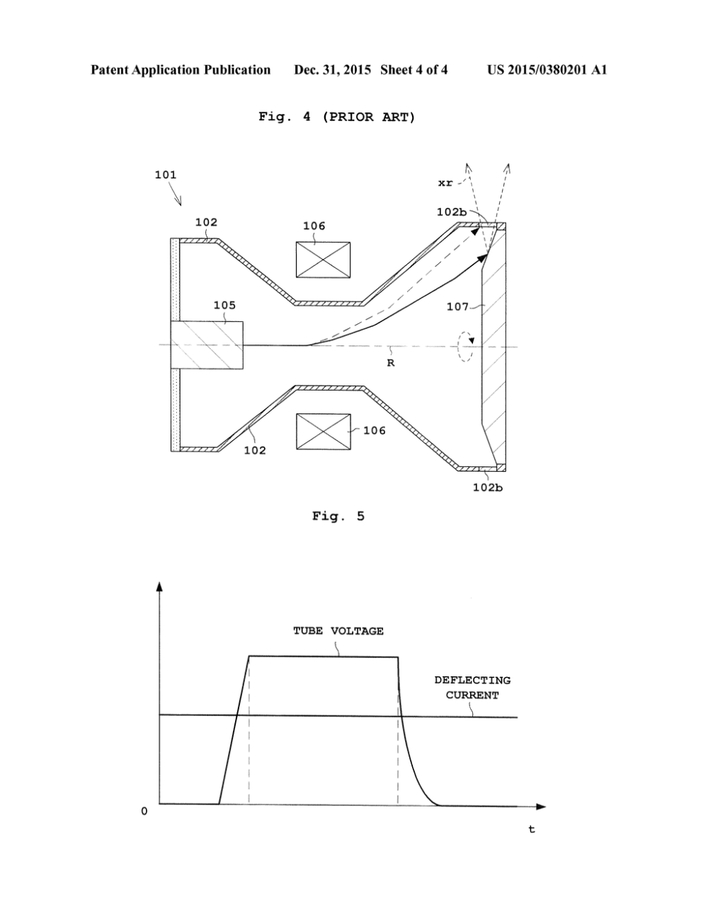 medium resolution of envelope rotation type x ray tube apparatus diagram schematic and image 05