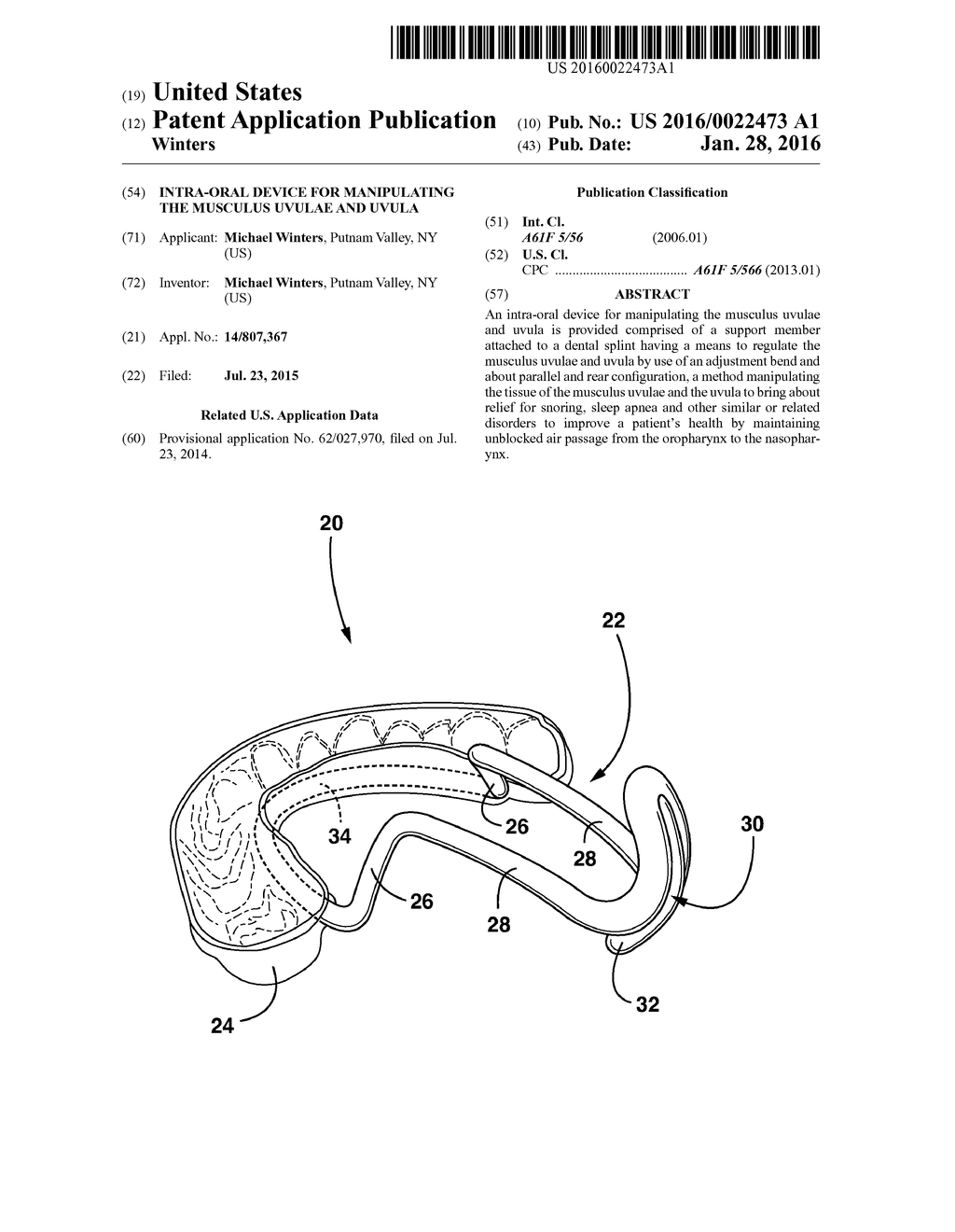 hight resolution of intra oral device for manipulating the musculus uvulae and uvula diagram schematic and image 01