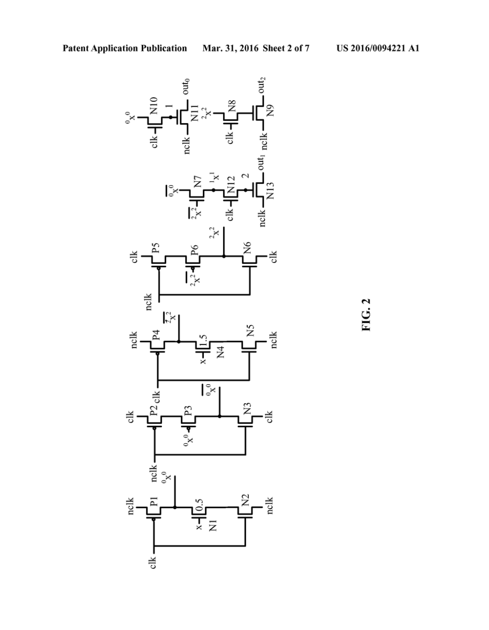 medium resolution of circuit for low power ternary domino reversible counting unit diagram schematic and image 03