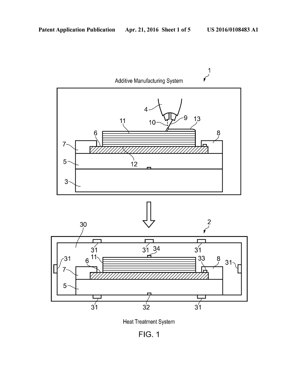 hight resolution of method of additive manufacturing and heat treatment diagram schematic and image 02