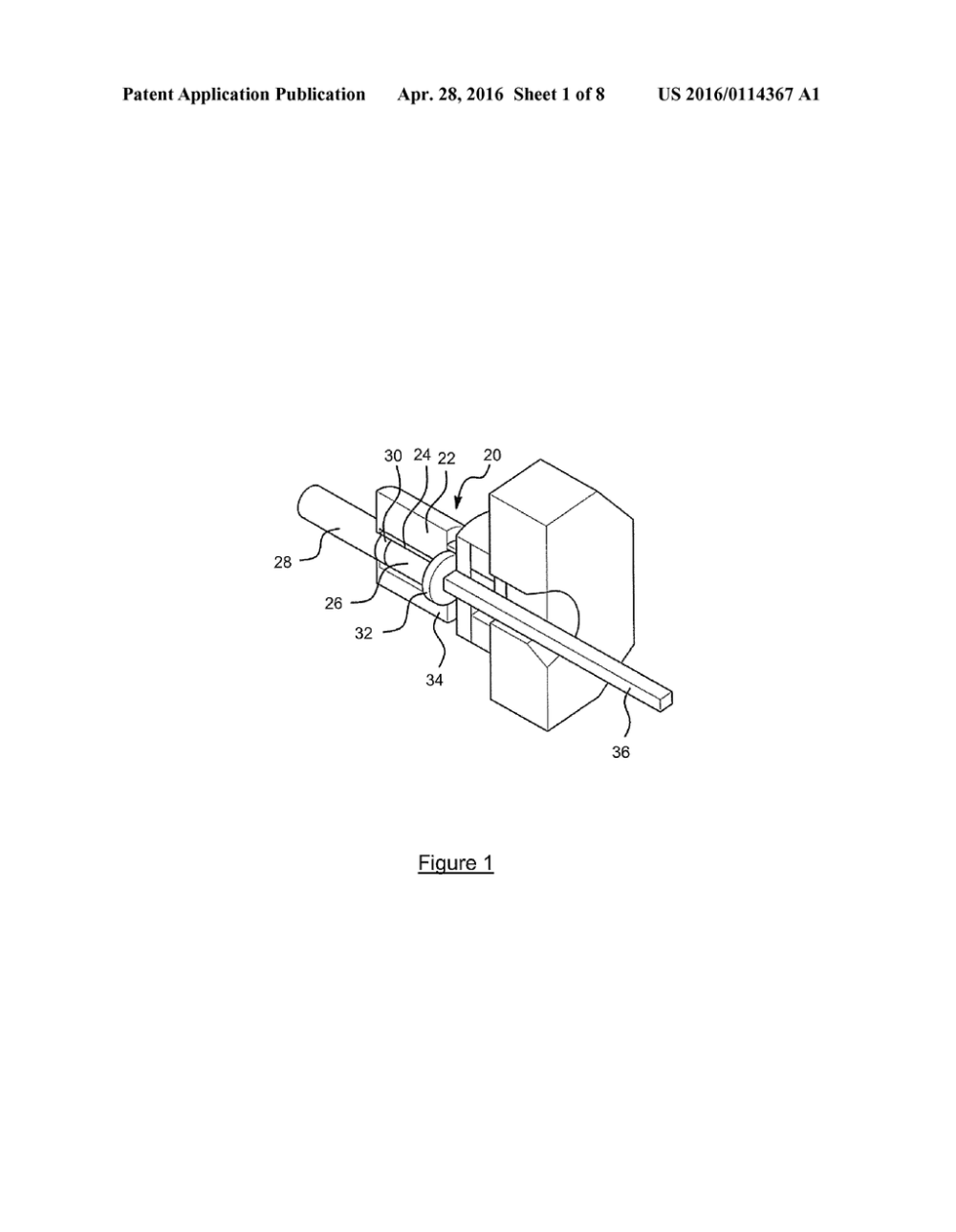 medium resolution of extrusion press container and mantle for same and method diagram schematic and image 02