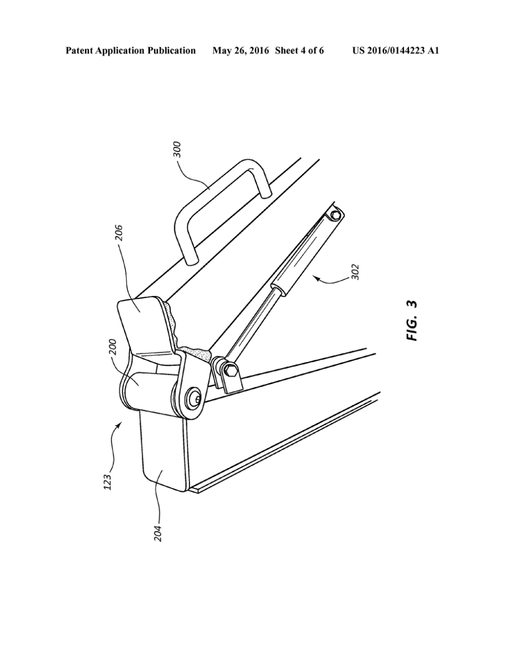 medium resolution of rowing machine having a beam with a hinge joint diagram schematic and image 05