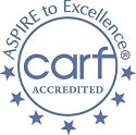 stroke brain injury accreditation carf logo