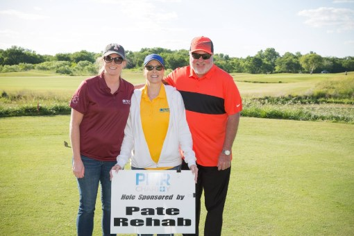 pate team at pmr charity golf event