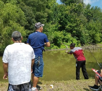 fishing hole activities for patients