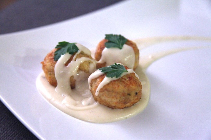 Chicken Cordon Bleu Meatballs Recipe