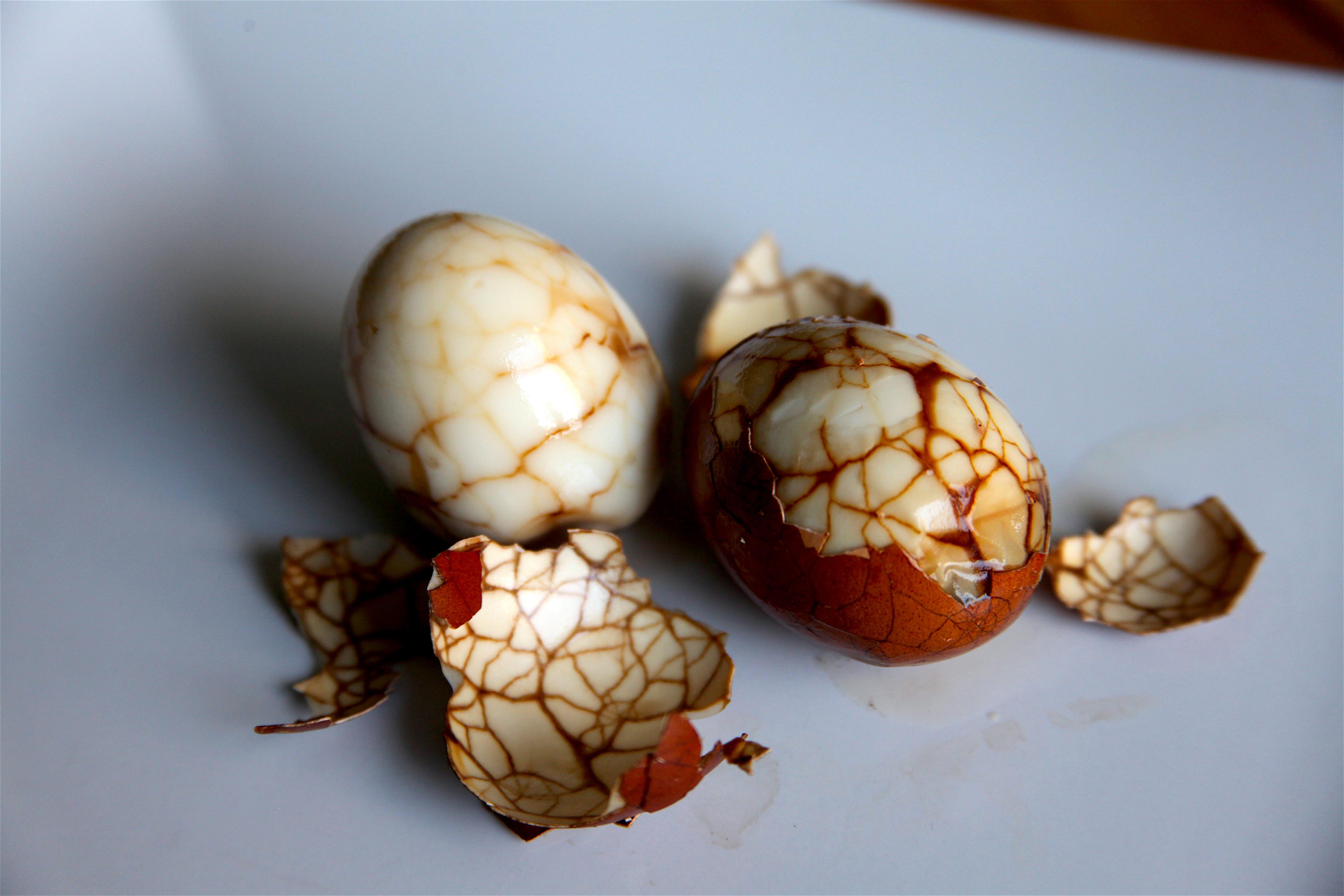 Marbled Chinese Tea Eggs | Pâté Smith