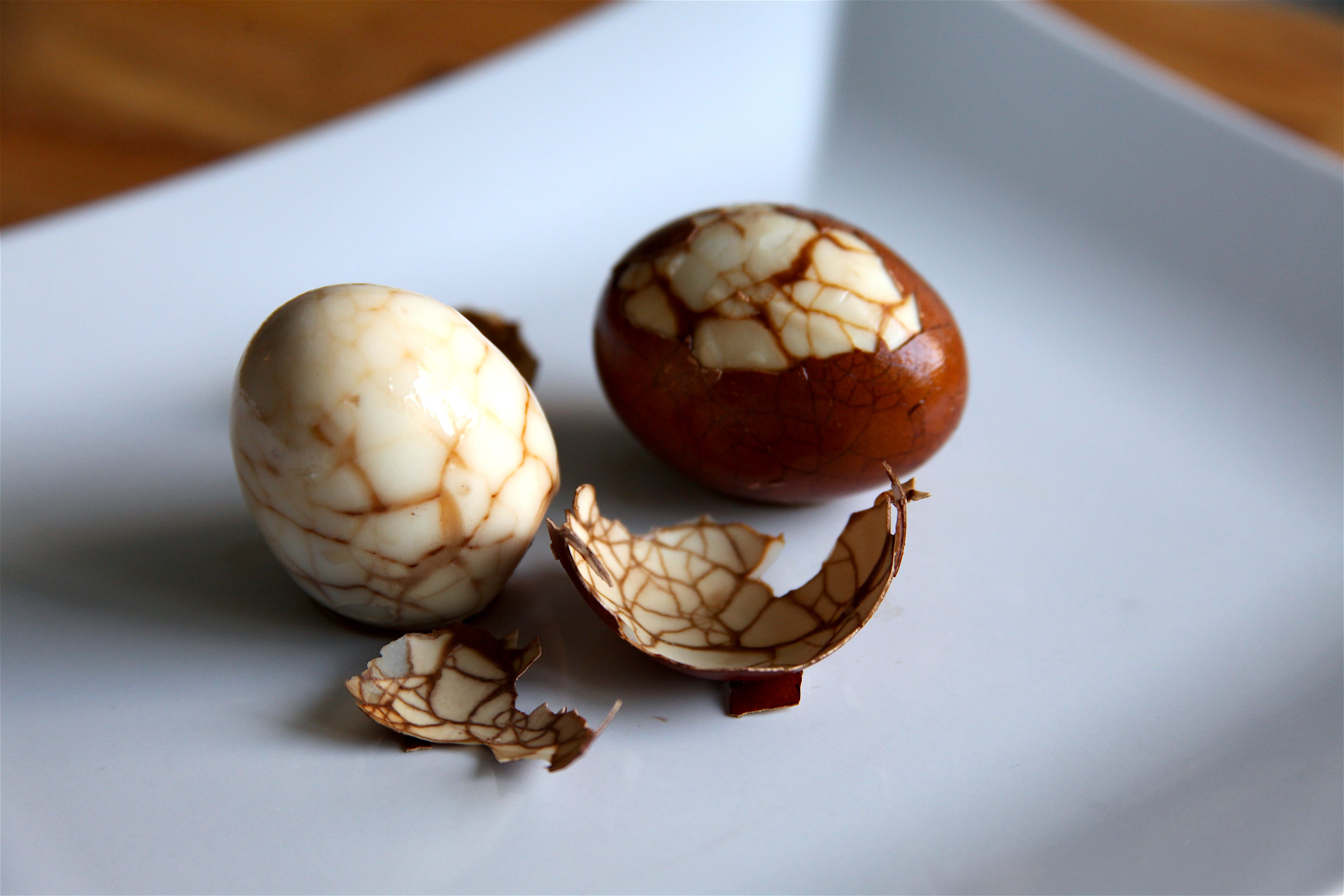 Marbled Chinese Tea Eggs | Pâté Smith