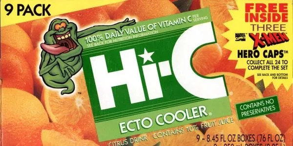 Hi-C Ecto Cooler Cocktail Recipe from Ghostbusters