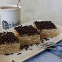 Beppetaart, een familierecept voor een mokka-koekjes taart